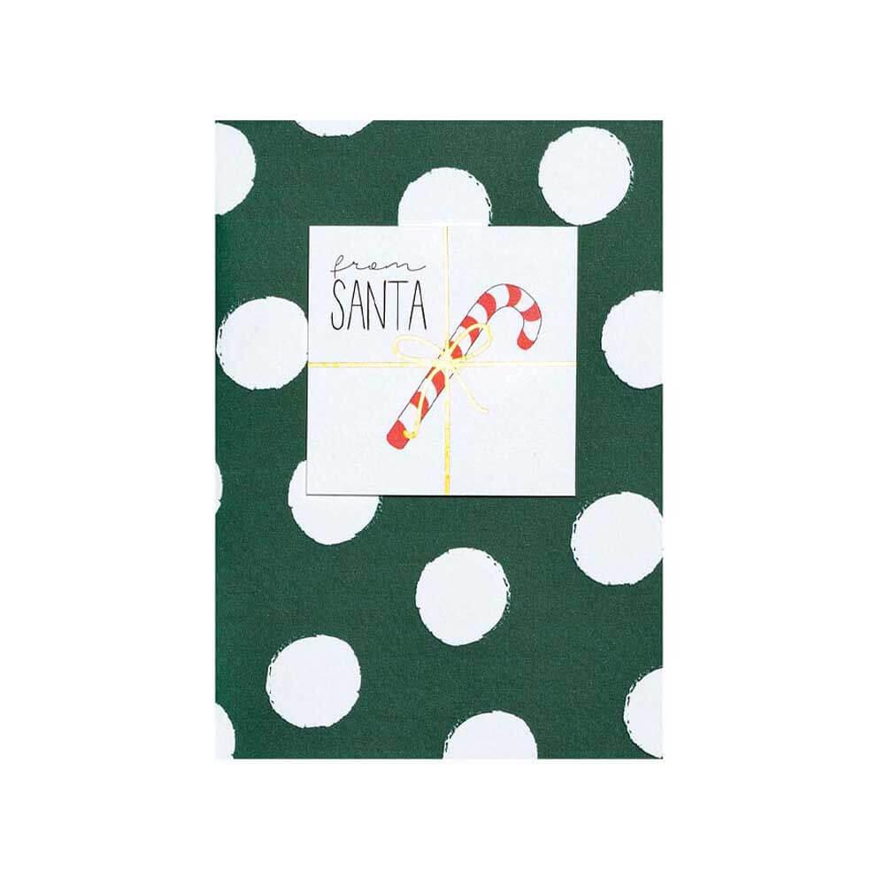 Räder Weihnachtsgruß Karte From Santa