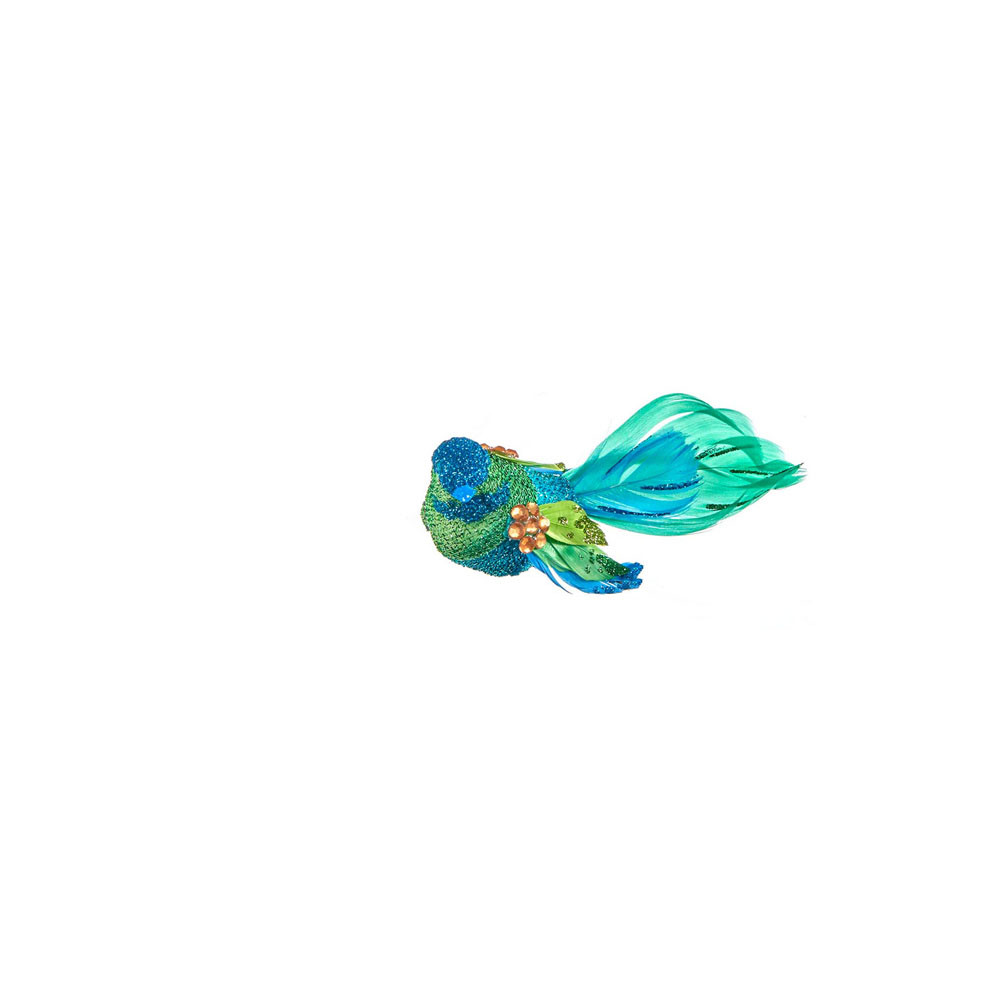 Goodwill Vogel mit Clip grün