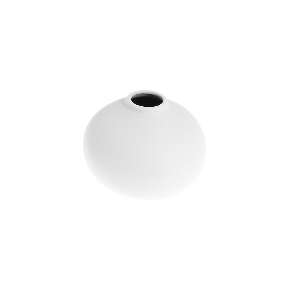 Storefactory Vase Källa bauchig klein weiß