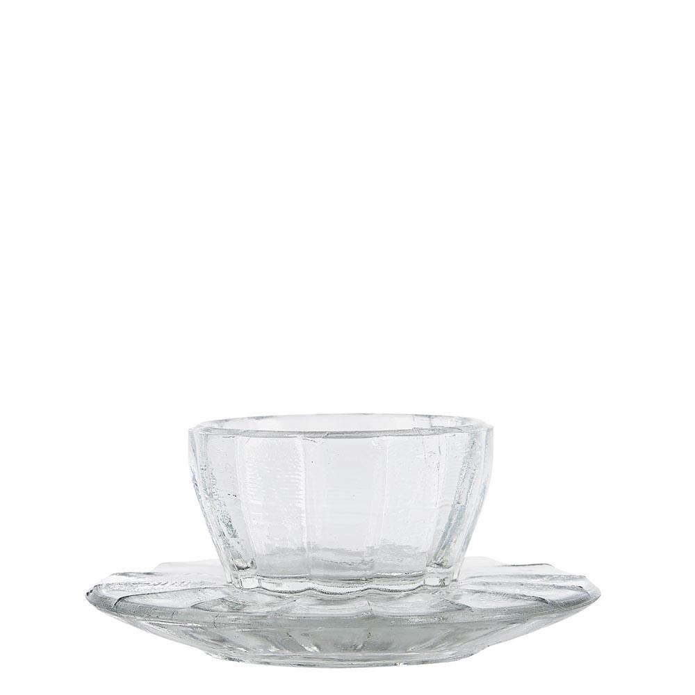 Eierbecher aus Glas