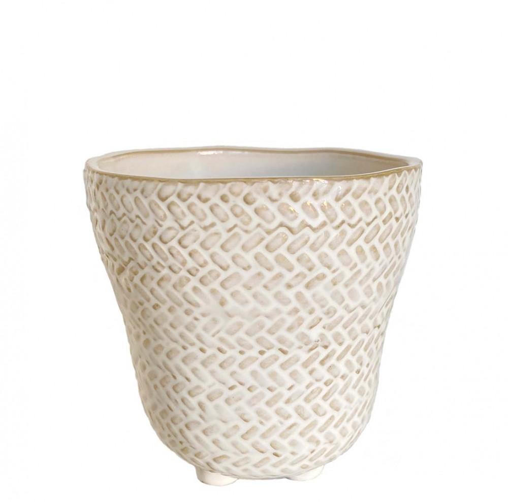 Übertopf Fade Keramik H12 cm