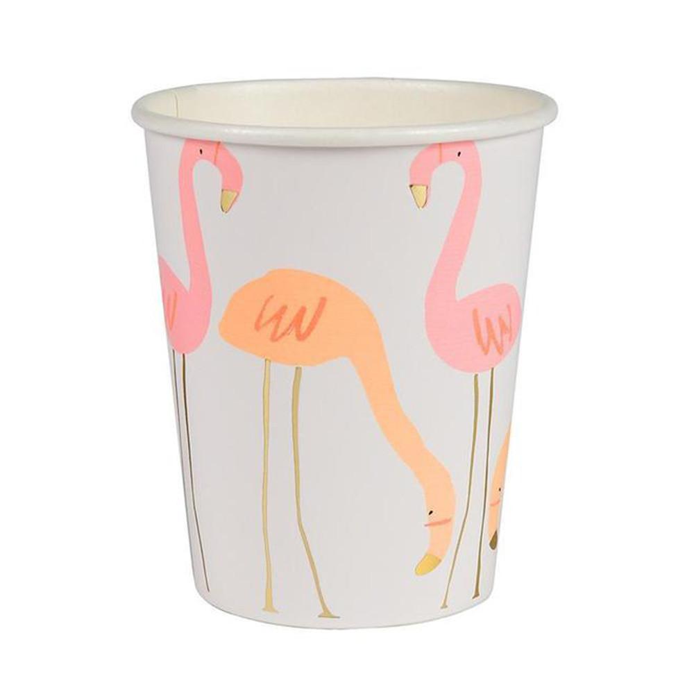 169840_Meri_Meri_Partybecher_Pappbecher_Flamingo_klein