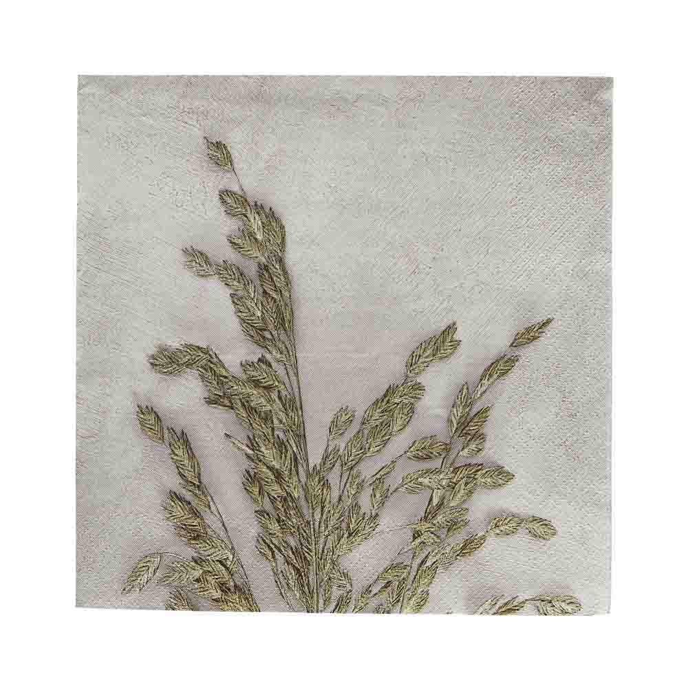 House Doctor Servietten Grass 1 light grey