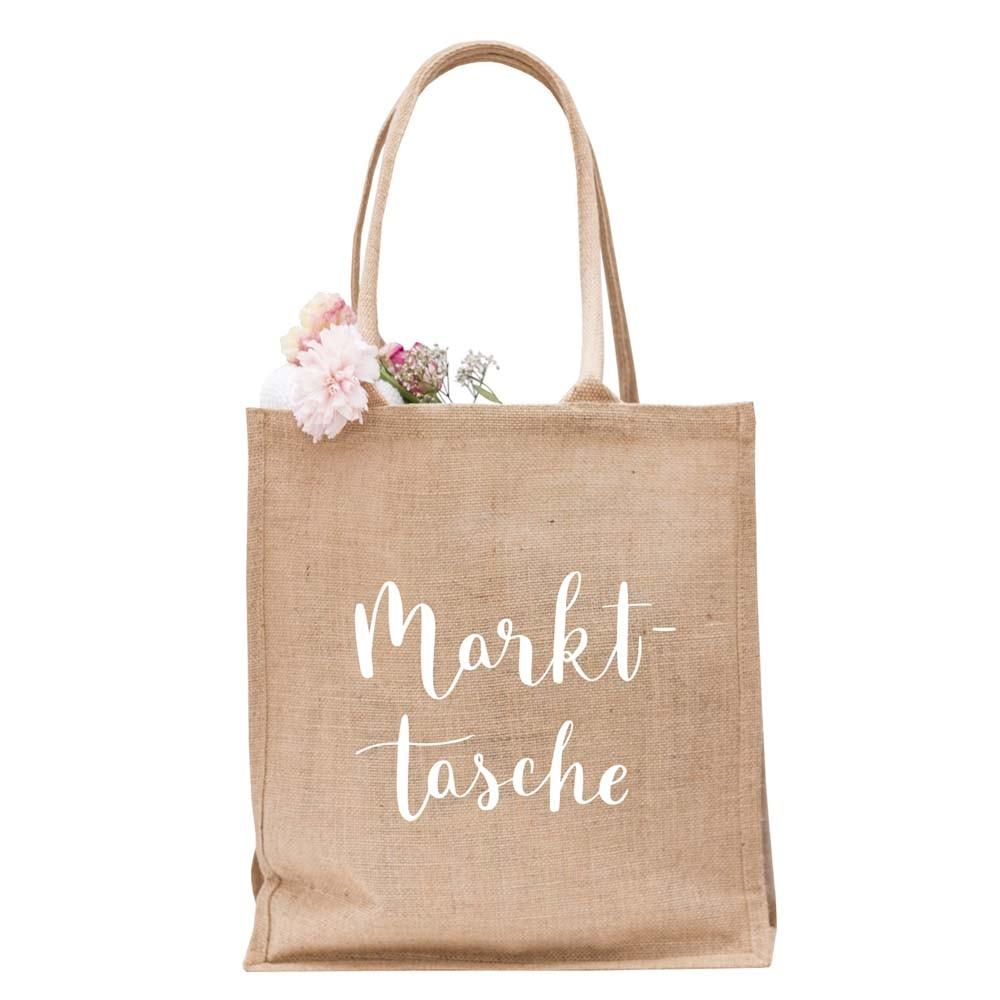 Jute Shopper Markttasche