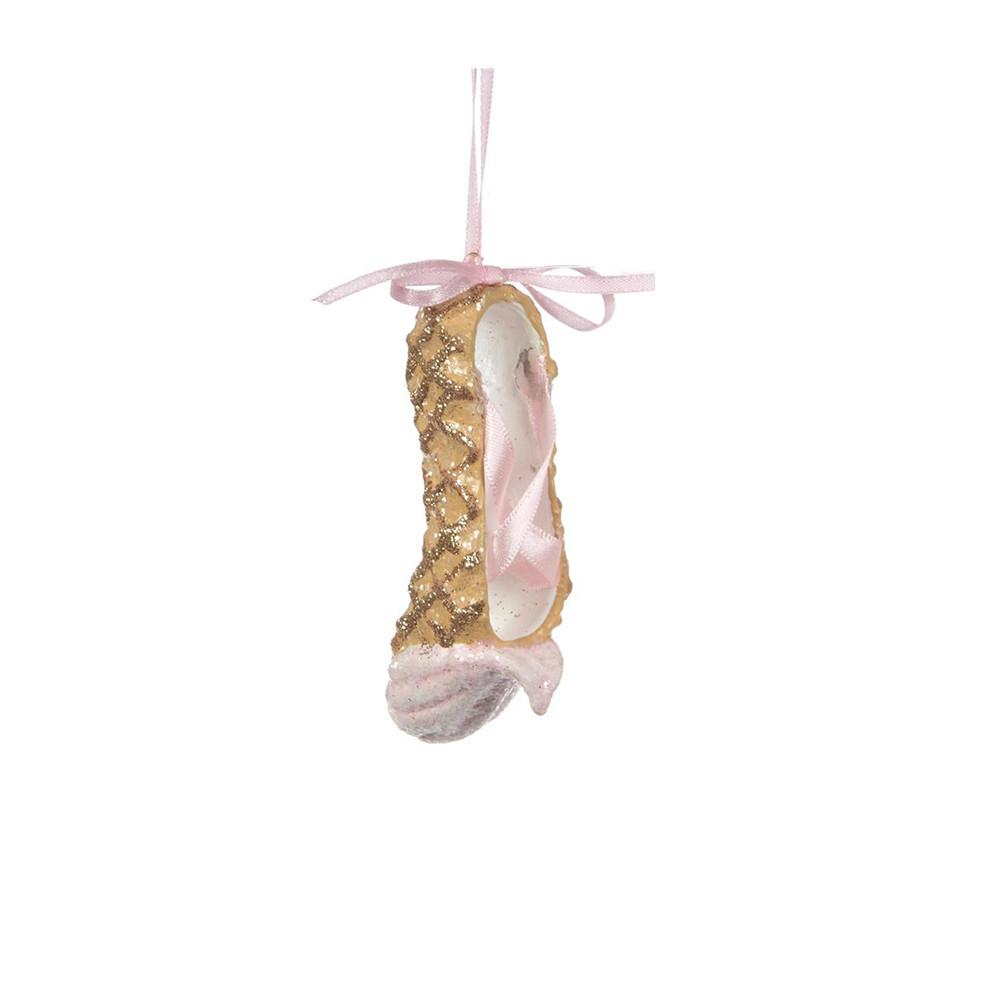 Goodwill Anhänger Ballerina Schuh gold