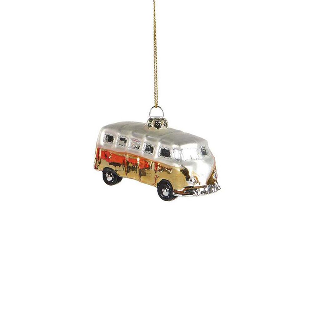 Goodwill Anhänger Mini Bus gold