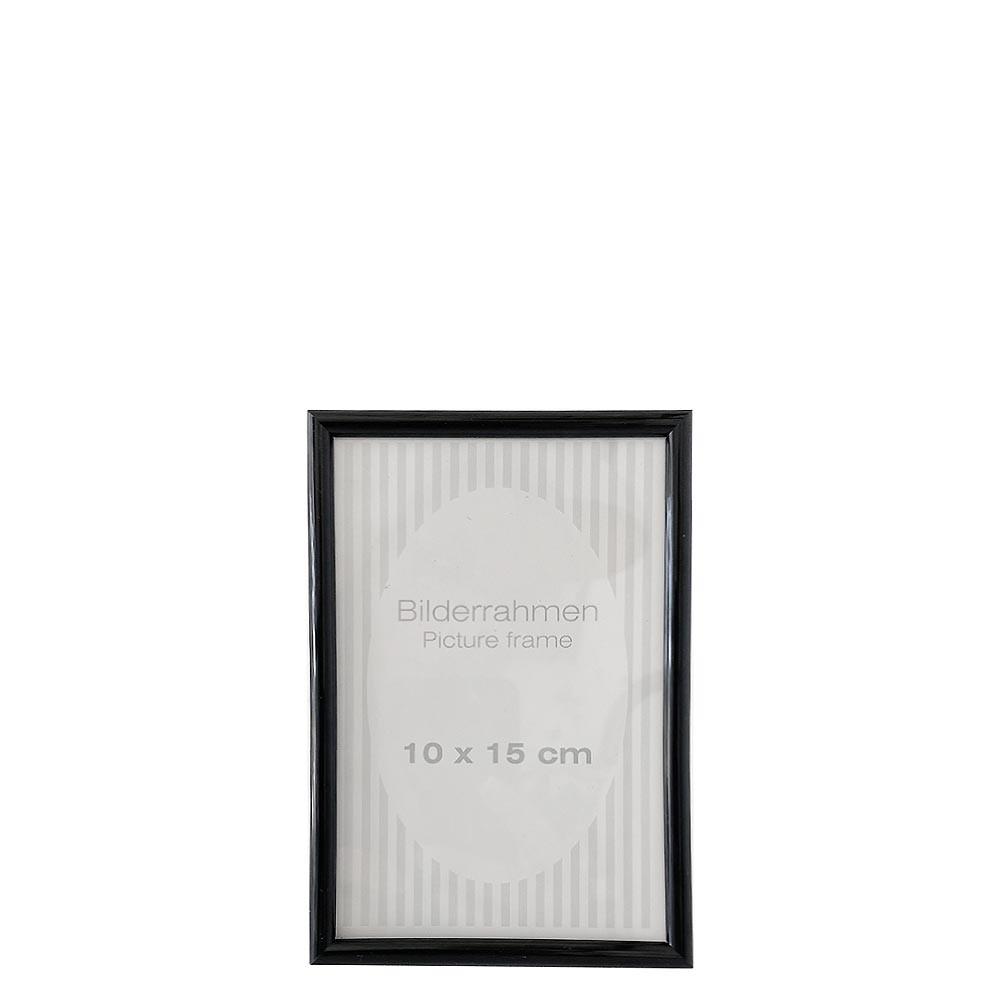 Bilderrahmen schwarz 10x15cm