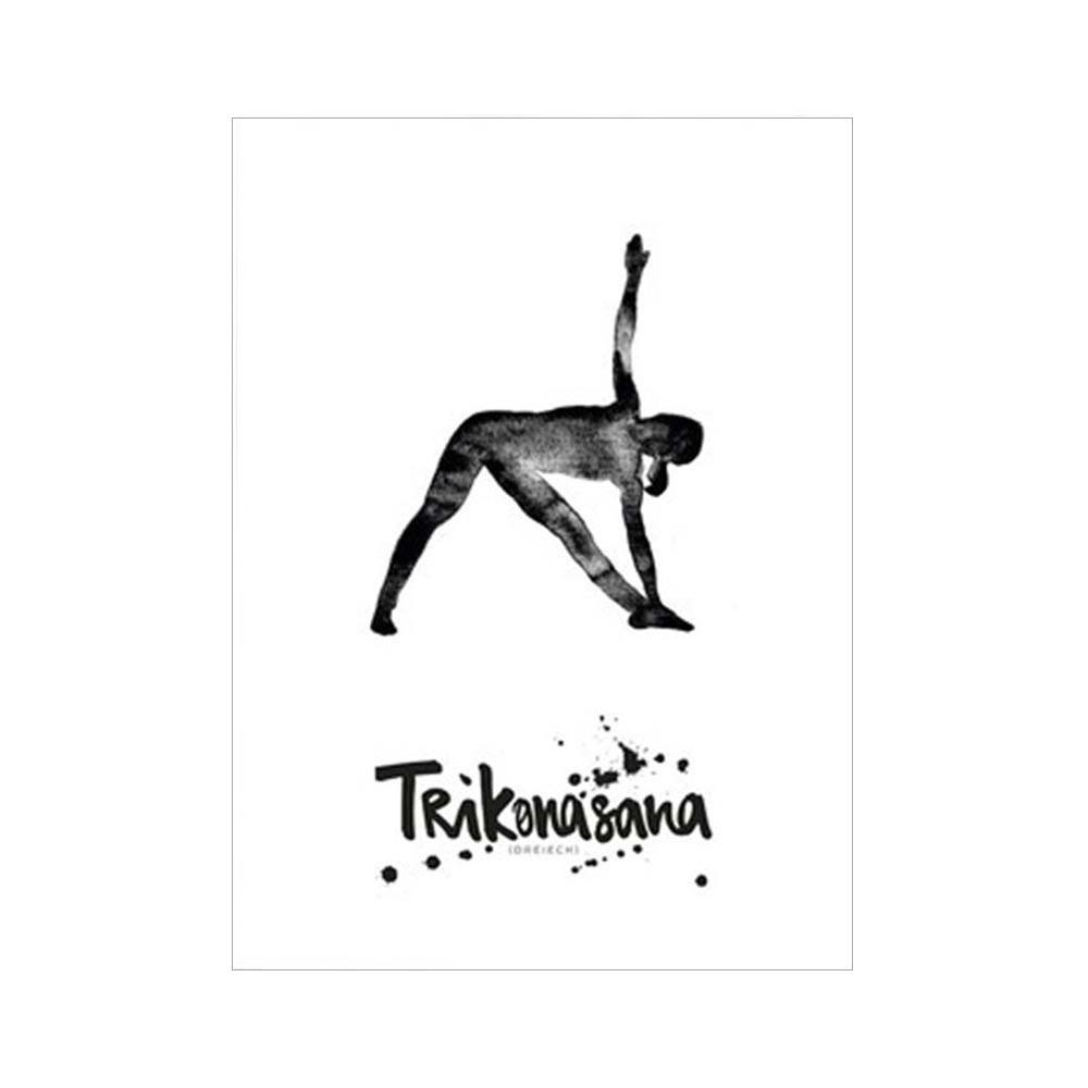 Formart Kunstdruck Trikonasana