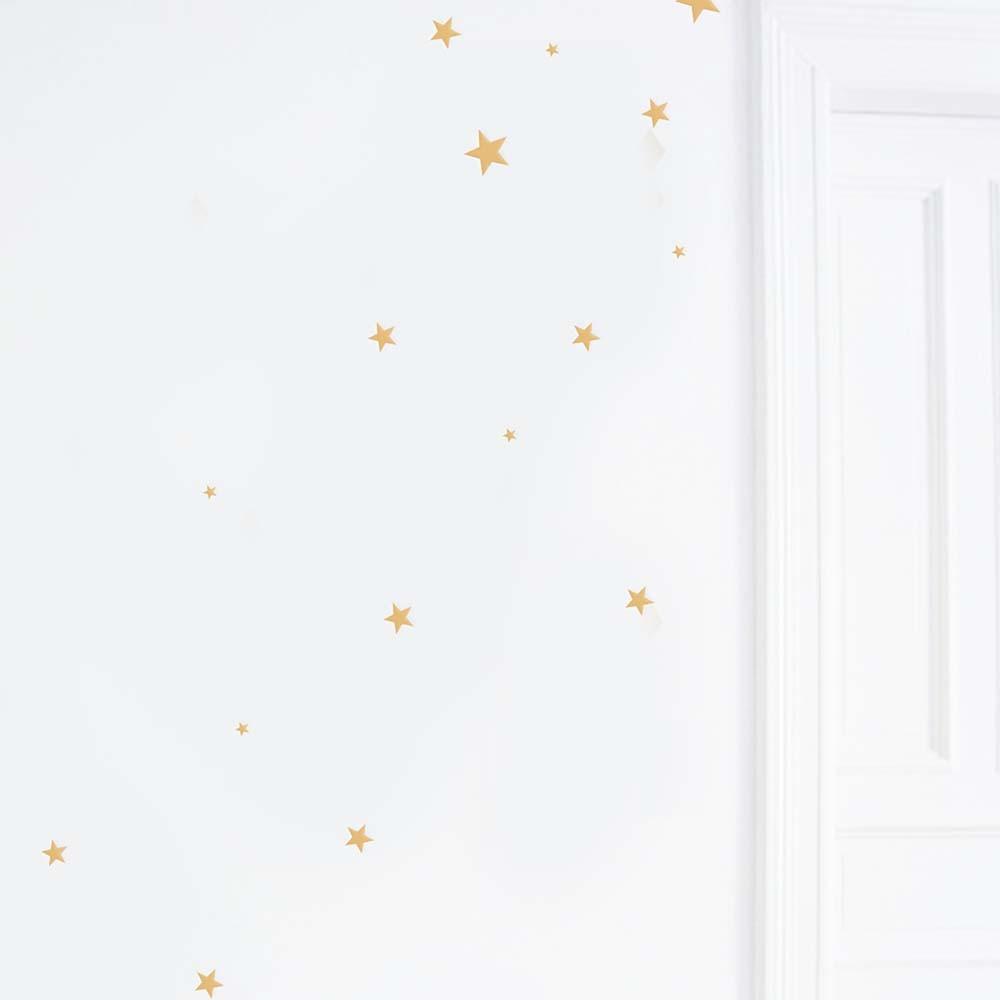 Sticker Goldene Sterne