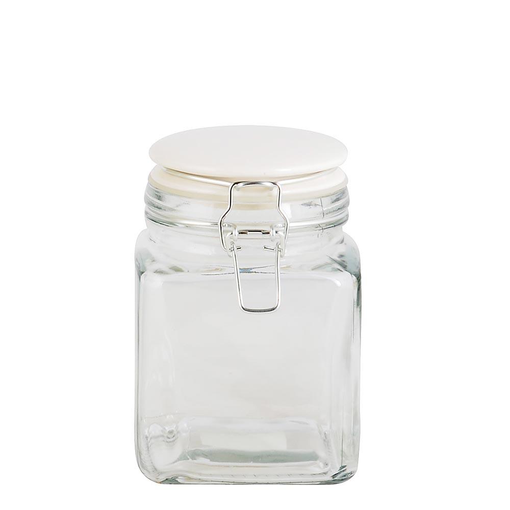 IB Laursen Vorratsglas eckig klein