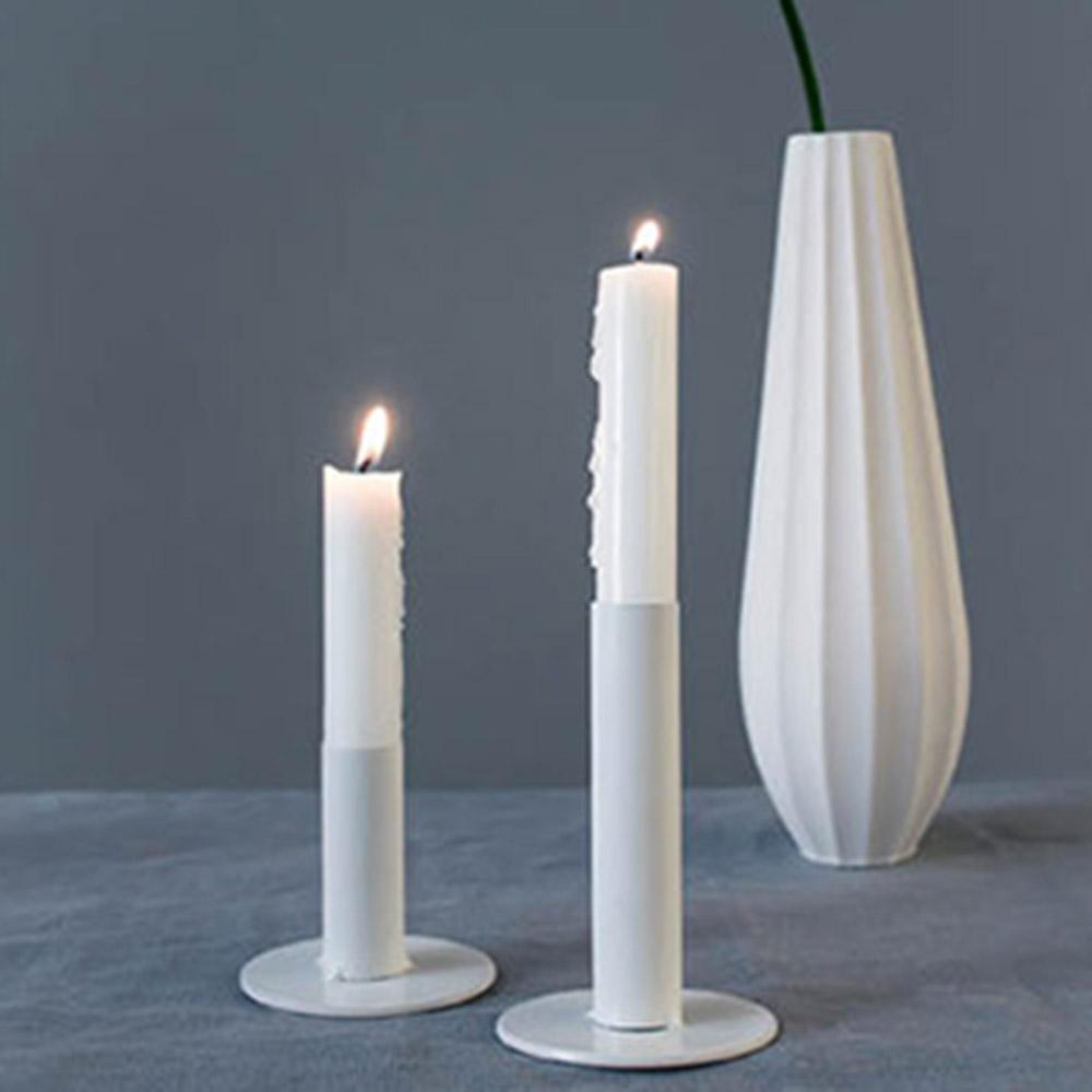 Storefactory Kerzenleuchter Ekeryd Weiß