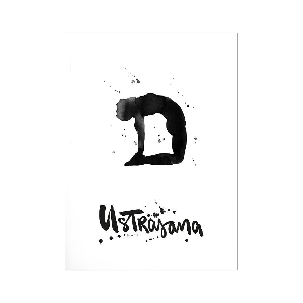 Formart Kunstdruck Ustrasana