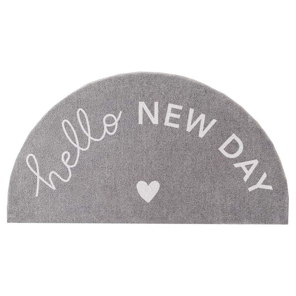Waschbare Fußmatte Hello New Day
