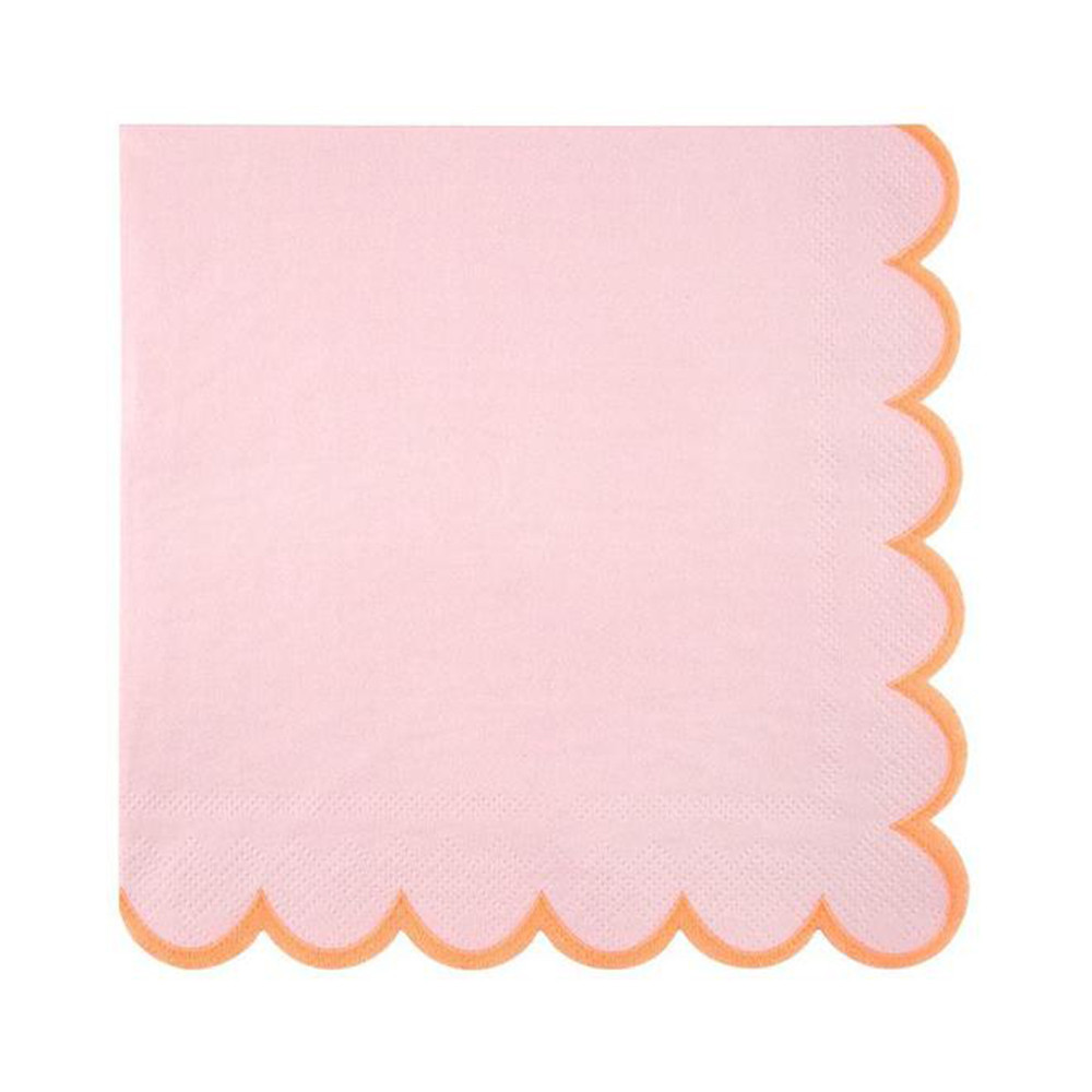 Meri Meri Serviette Pastell rosa