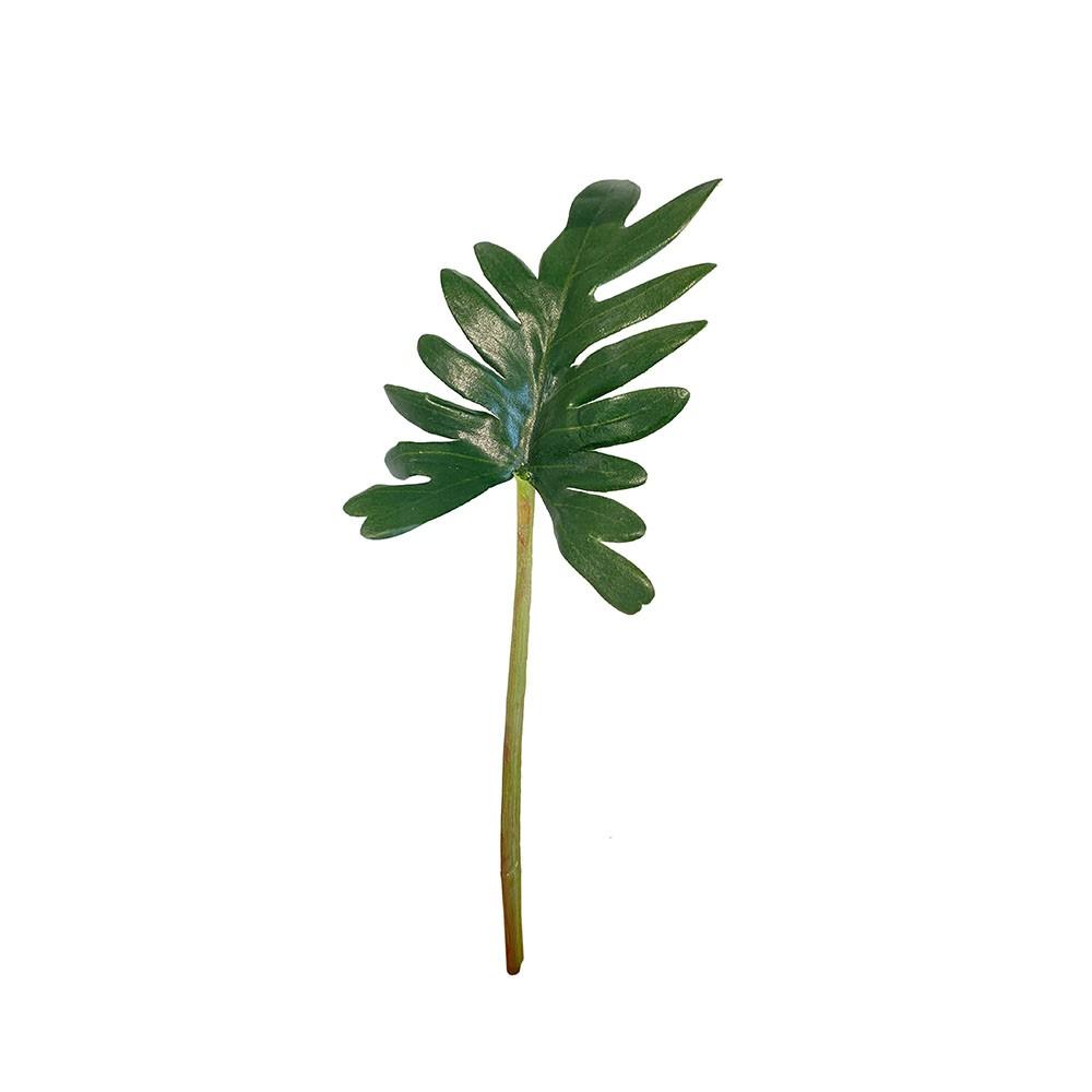Dekoblatt Philodendron grün 32cm