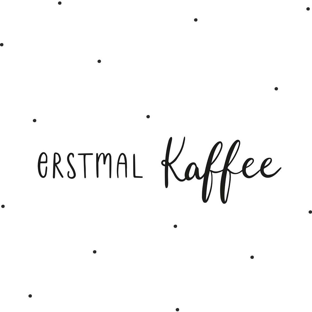 Sticker Erstmal Kaffee