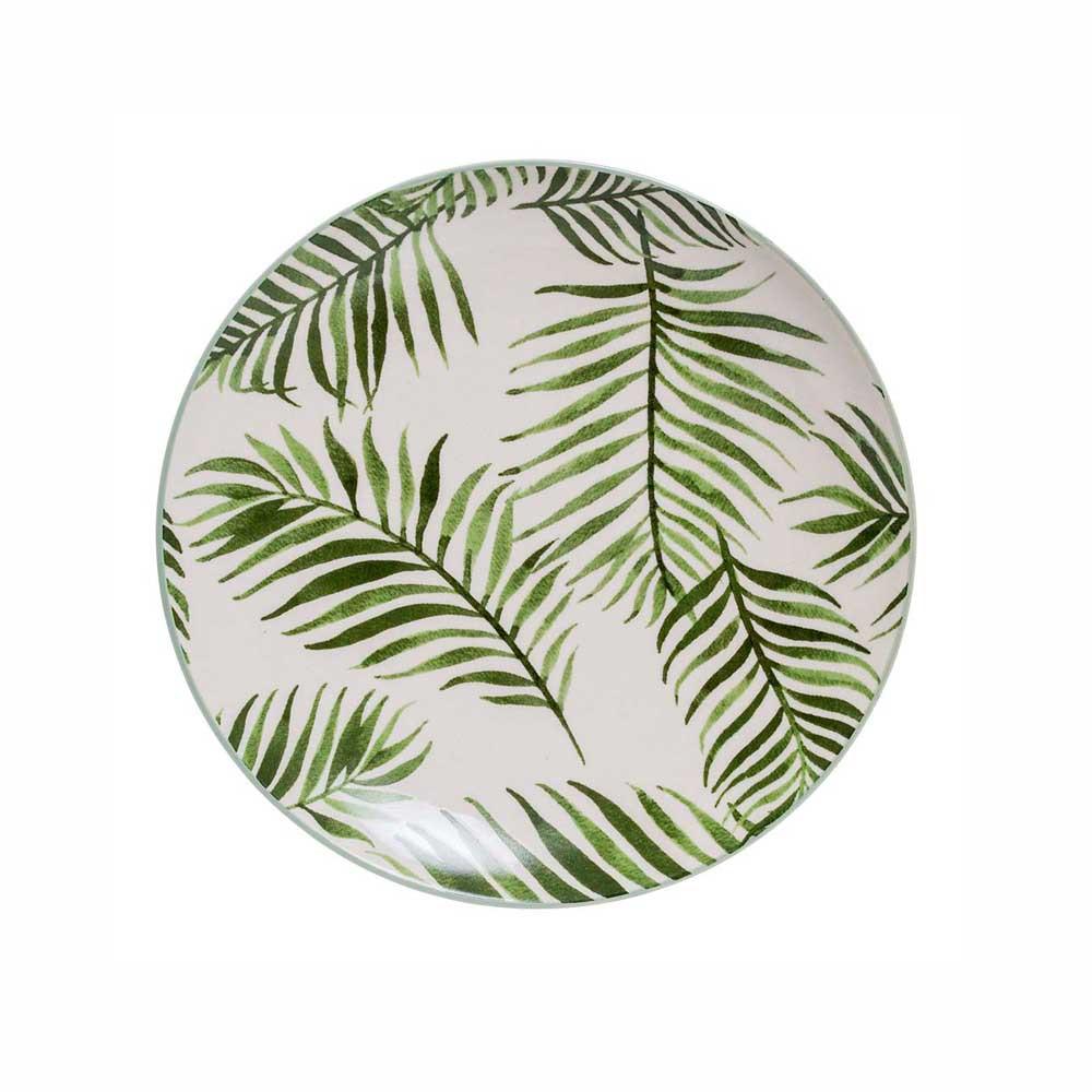 Bloomingville Teller Jade Blätter D20 cm