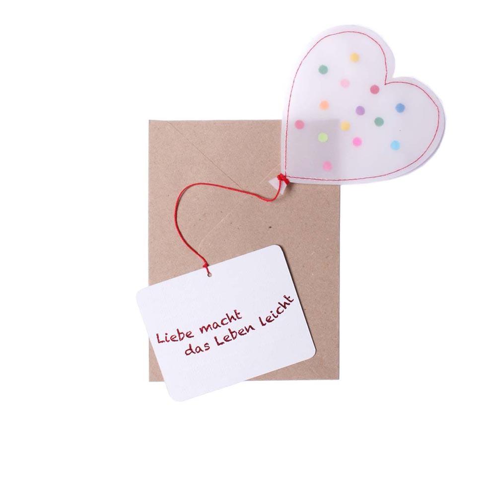 Good old friends Herzballonpost Liebe macht das Leben leicht