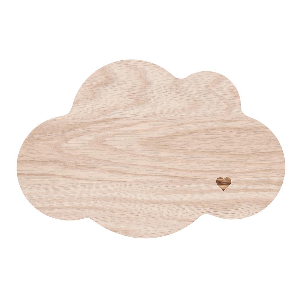 Frühstücksbrettchen Wolke