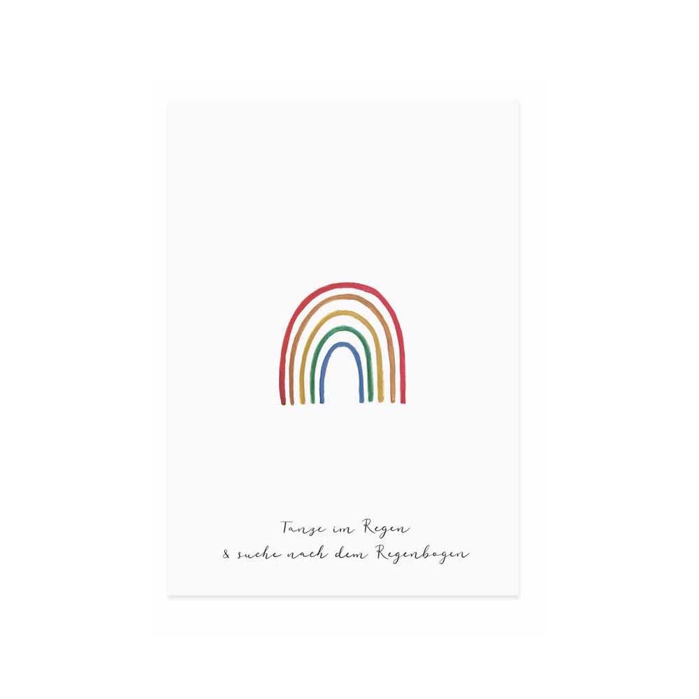 Eulenschnitt Glückwunschkarte
