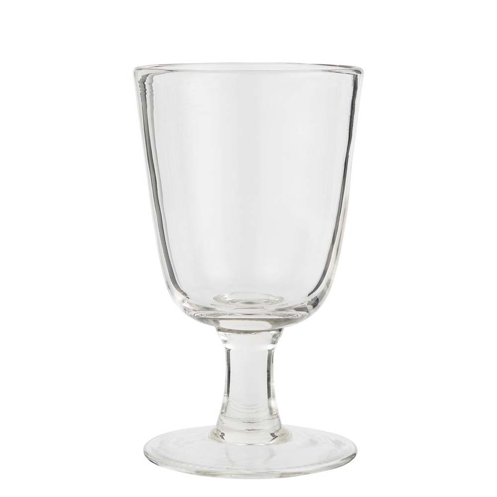 Weißweinglas klar
