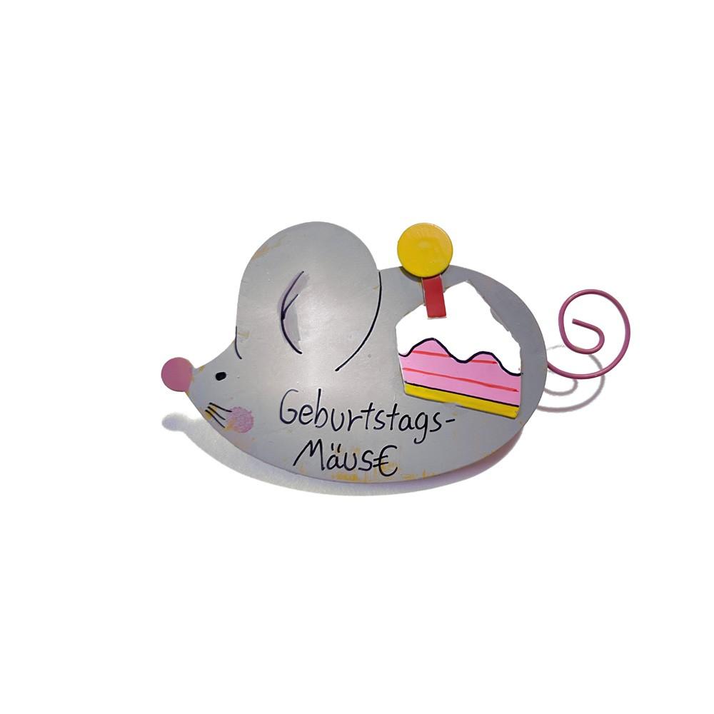 Klammer Geldgeschenk Geburtstags-Mäuse