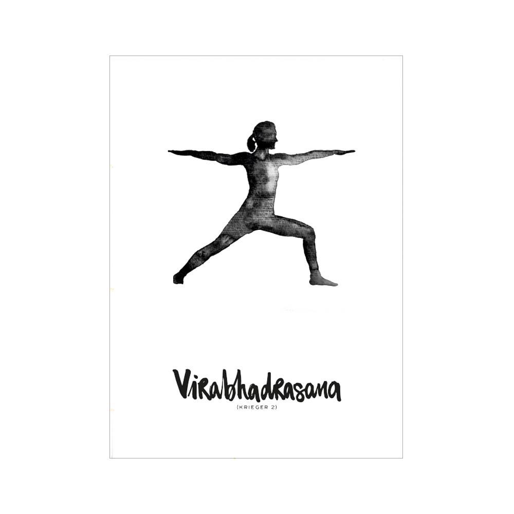 Formart Kunstdruck Virabhadrasana