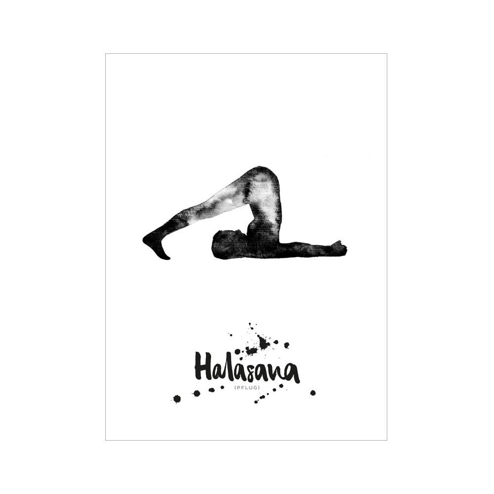 Formart Kunstdruck Halasana