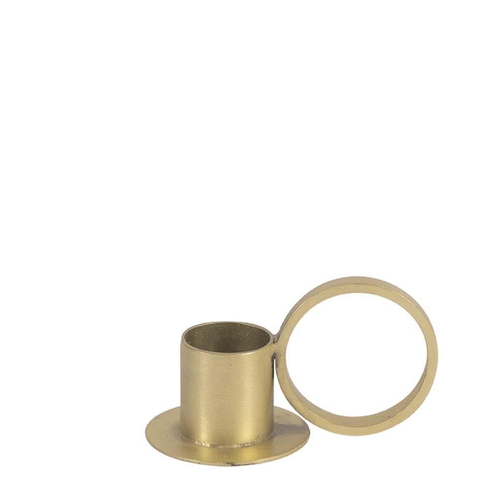 Kerzenhalter Circle gold