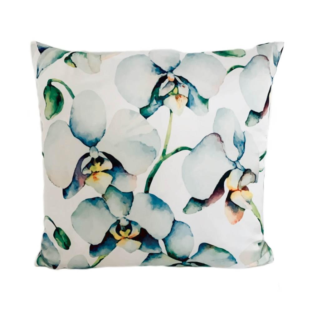 Kissen Yasmin Blumenmuster Orchidee
