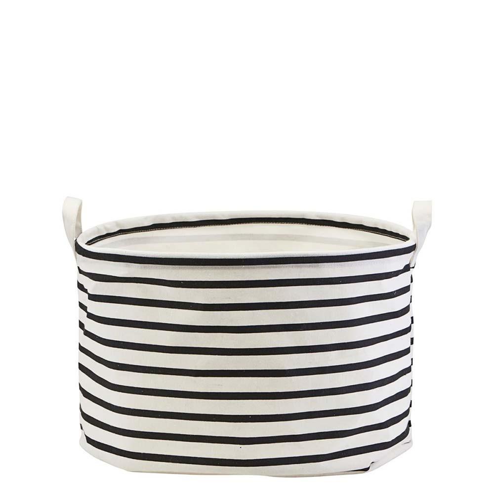 House Doctor Aufbewahrungskorb Stripes