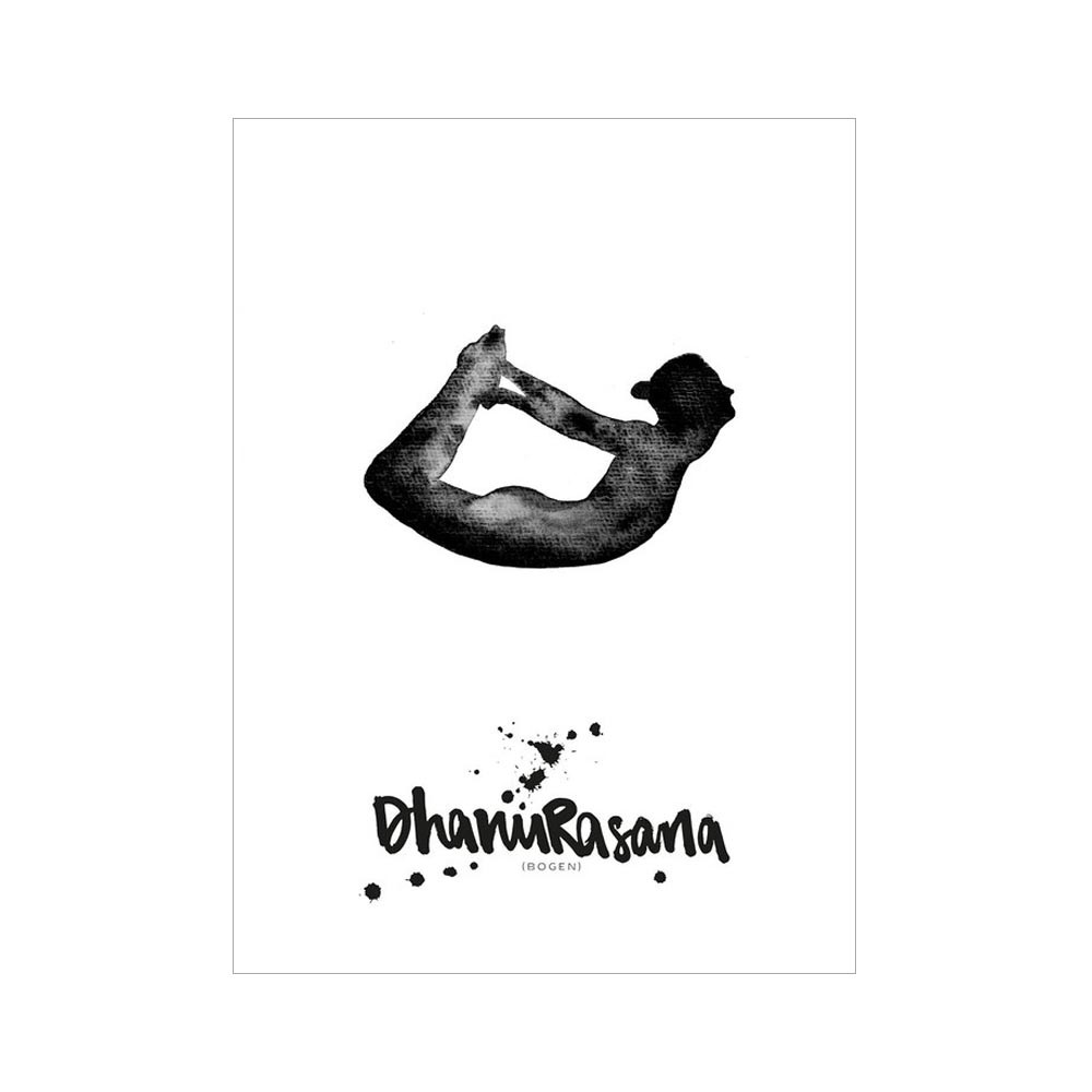 Formart Kunstdruck Dhanurasana